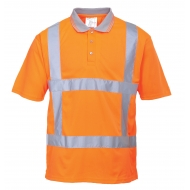 Marškinėliai Polo RWS signaliniai Portwest R422