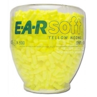 Ausų kamštukai kolboje 3M EARsoft Neons