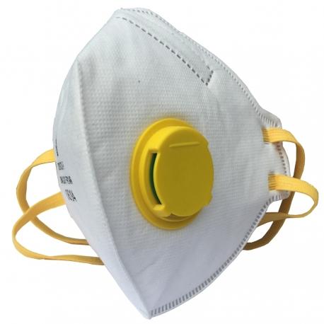 Respiratorius sulankstomas su vožtuvu FFP2