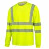 Marškinėliai signaliniai ilgomis rankovėmis HI-VIS