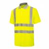 Marškinėliai signaliniai polo HI-VIS