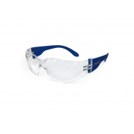 Apsauginiai akiniai CRACK, skaidrūs