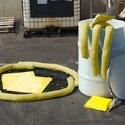 Naftos produktų surinkimo priemonės