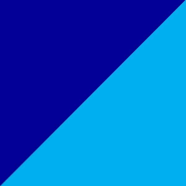 Tamsiai mėlyna su mėlyna