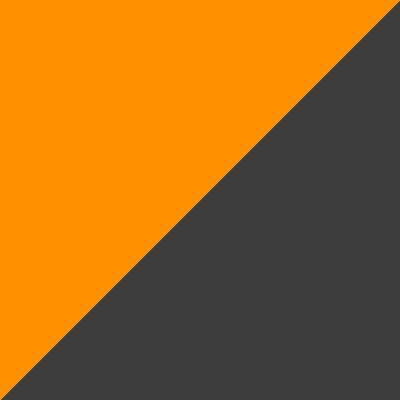 oranžinė su pilka