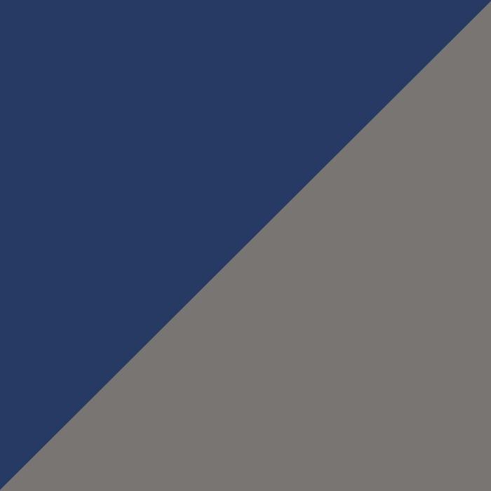 tamsiai mėlyna su pilka