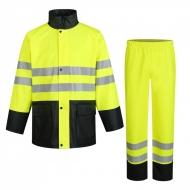 Kostiumas nuo lietaus PU930 HI-VIS, geltonas